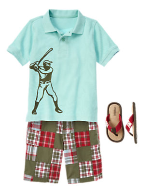 Boy's Play To Win Outfit by Gymboree