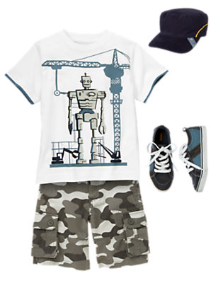 Boy's Team Robot Outfit by Gymboree