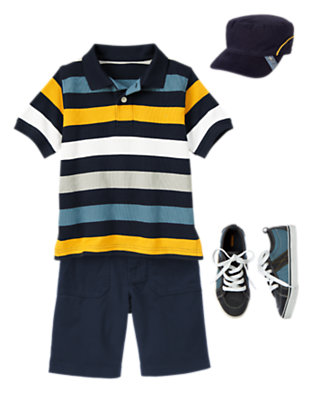Stripe Zone Outfit by Gymboree