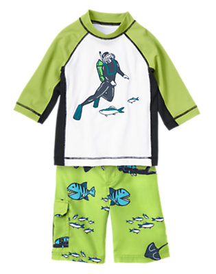 Scuba Guy Outfit by Gymboree