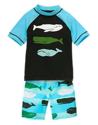 Boy's Deep Sea Dude Outfit by Gymboree