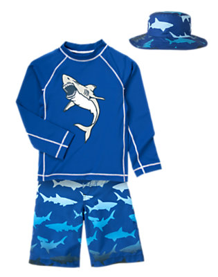 Boy's Shark Diver Outfit by Gymboree