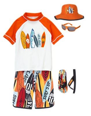 Boy's Surf's Up! Outfit by Gymboree
