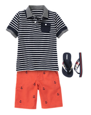 Go Nautical Outfit by Gymboree