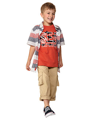 Boy's Seafaring Stripes Outfit by Gymboree
