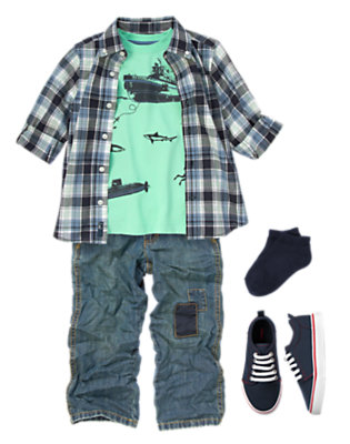 Boy's At The Pier Outfit by Gymboree