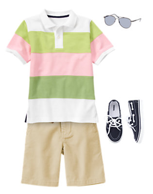 Boy's Spring Picnic Outfit by Gymboree