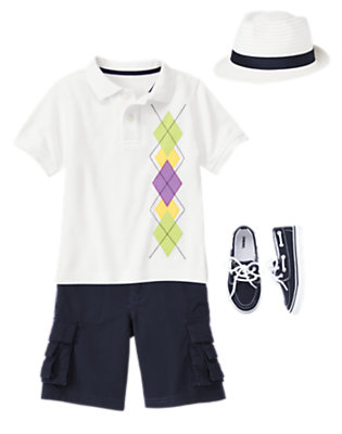 Boy's Weekend Brunch Outfit by Gymboree