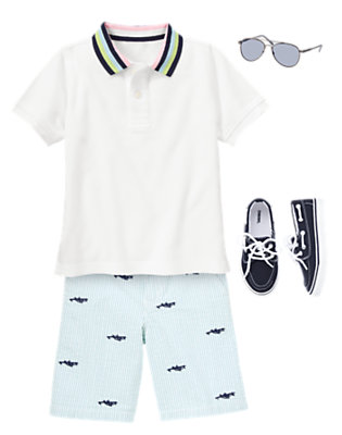 Aviator Stripes Outfit by Gymboree