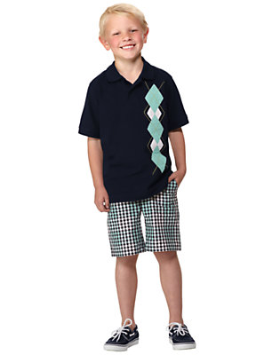 Boy's Argyle Guy Outfit by Gymboree
