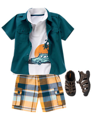 Beach Paradise Outfit by Gymboree