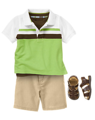 Toddler Boy's Stylish Fella Outfit by Gymboree