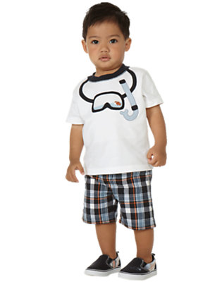 Snorkel Buddy Outfit by Gymboree