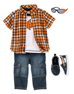 Toddler Boy's Sharky's Dive Club Outfit by Gymboree