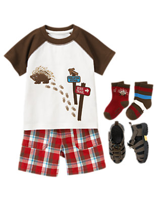 Porcupine Trails Outfit by Gymboree
