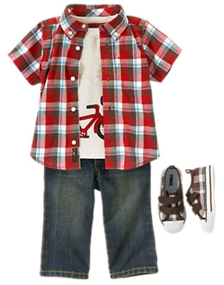 Little Trailblazer Outfit by Gymboree