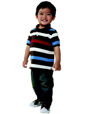 Snappy in Stripes Outfit by Gymboree