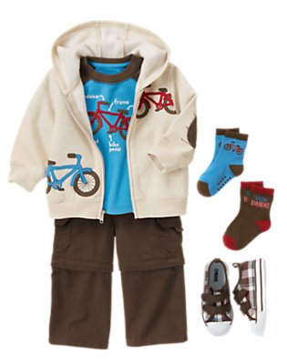 Mountain Bike Tyke Outfit by Gymboree