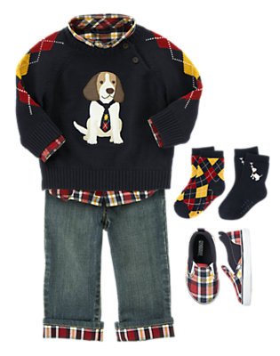 Dog Park Playtime Outfit by Gymboree