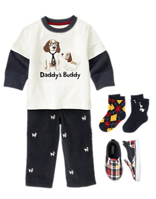 Toddler Boy's Boy Genius Outfit by Gymboree