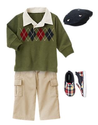 Toddler Boy's Field Trip Fun Outfit by Gymboree