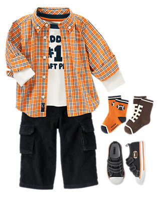 Daddy's #1 Player Outfit by Gymboree