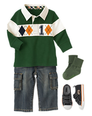 Kick Off Time! Outfit by Gymboree