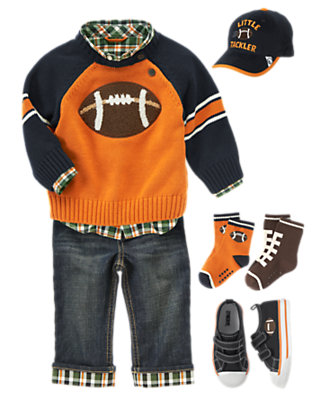 Preppy All-Star Outfit by Gymboree