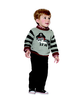 Toddler Boy's Raccoon Captain Outfit by Gymboree