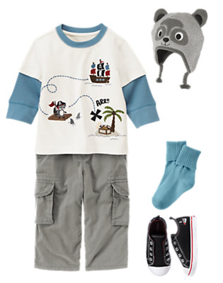 Treasure Island Outfit by Gymboree