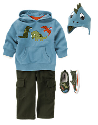 Happy Dinosaurs Outfit by Gymboree