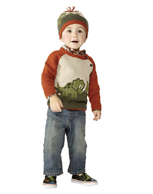 Tiny Triceratops Outfit by Gymboree