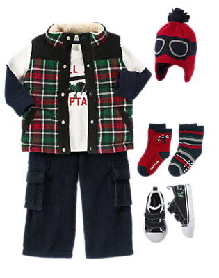 Toddler Boy's Call Me Captain Outfit by Gymboree