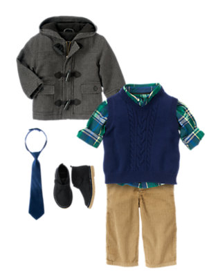 Toddler Boy's Holiday Handsome Outfit by Gymboree