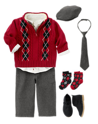 Toddler Boy's All Dressed Up Outfit by Gymboree