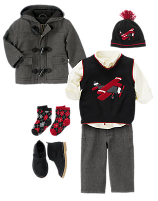 Jolly Pilot Outfit by Gymboree