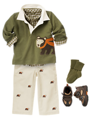 Bear Buddies Outfit by Gymboree