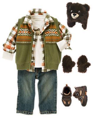 Wilderness Friends Outfit by Gymboree