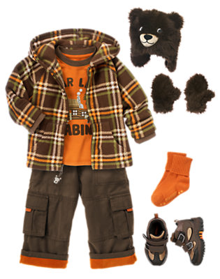 Bear Lake Outfit by Gymboree