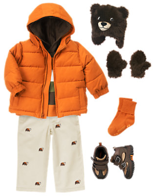 Toddler Boy's Follow The Trail Outfit by Gymboree