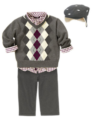 Toddler Boy's Polar Prep Outfit by Gymboree