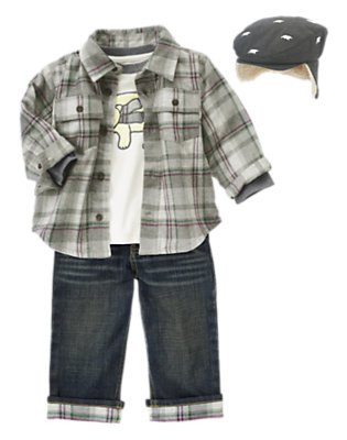 Toddler Boy's Bundle Up Bear Outfit by Gymboree