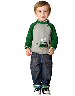 Toddler Boy's Junior Conductor Outfit by Gymboree