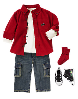 Merry Express Outfit by Gymboree