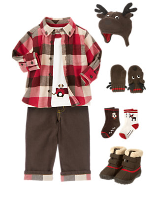 Toddler Boy's Outdoor Play Outfit by Gymboree