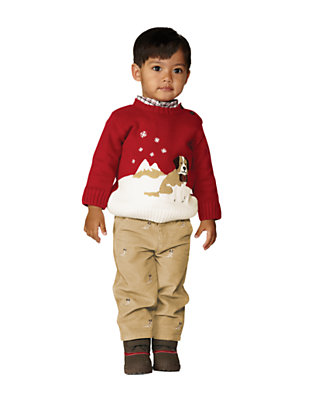 Toddler Boy's Dapper Dog Outfit by Gymboree