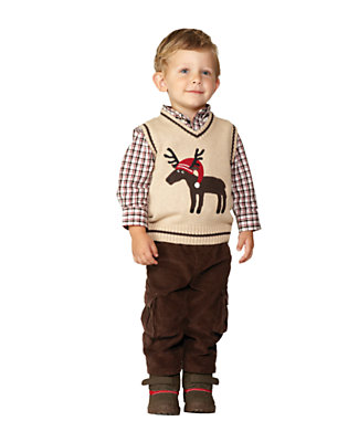 Merry Moose Outfit by Gymboree