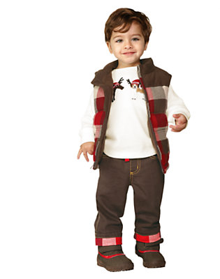 Toddler Boy's Winter Trek Outfit by Gymboree