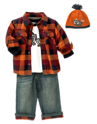 Plaid Fun Outfit by Gymboree