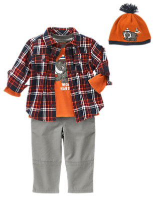 Toddler Boy's Mister Woolly Mammoth Outfit by Gymboree